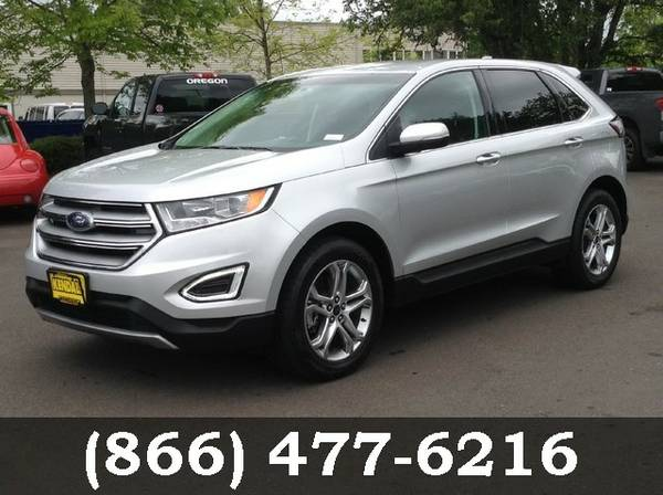 2015 Ford Edge SILVER FOR SALE - GREAT PRICE!!