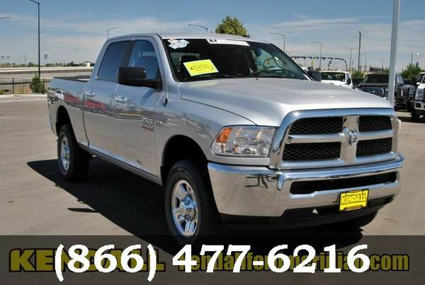 2014 Ram 2500 Bright Silver Metallic Clearcoat SEE IT TODAY!