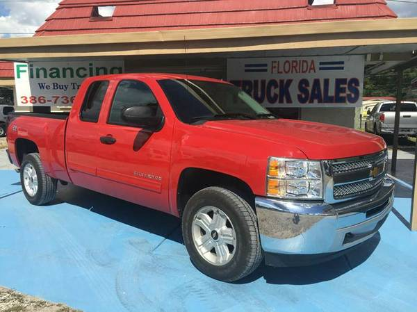 2013 Chevy Silverado Z-71 4X4 100% Financing & Leasing Available