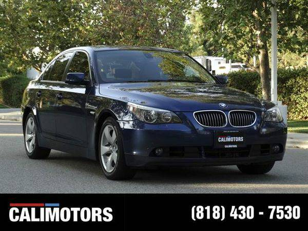 2007 *BMW* *5* *Series* 525i Sedan 4D WE FINANCE + BEST QAUILITY,...