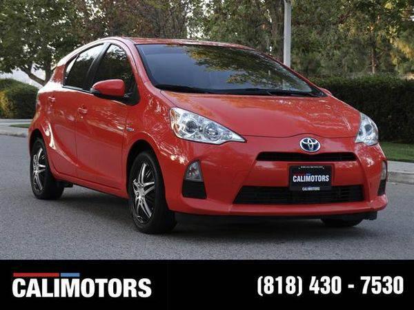 2012 *Toyota* *Prius* *c* One Hatchback 4D WE FINANCE + BEST...