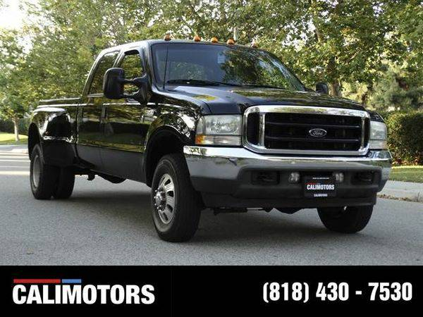 2002 *Ford* *F350* *Super* *Duty* *Crew* *Cab* Long Bed WE FINANCE +...