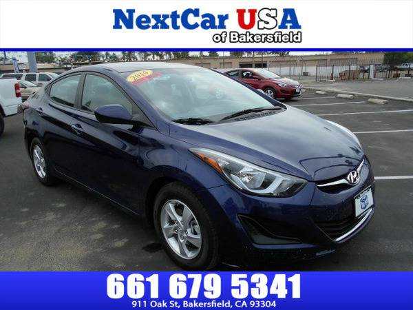 *2014* *Hyundai* *Elantra* *SE* **As Low as $495 Down**