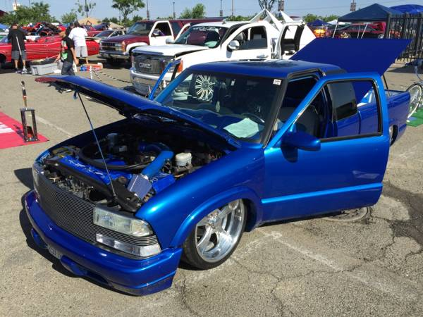 2000 chevy s10 bagged