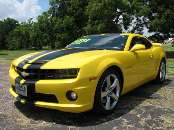 2010 Chevrolet Camaro 2SS - V8, 56,000 Miles, Leather, Sunroof, Clean