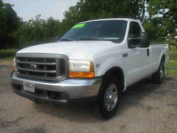 2000 Ford F-250 XL Regular Cab- Local Trade-In, 5.4L V8, 145,000 Miles