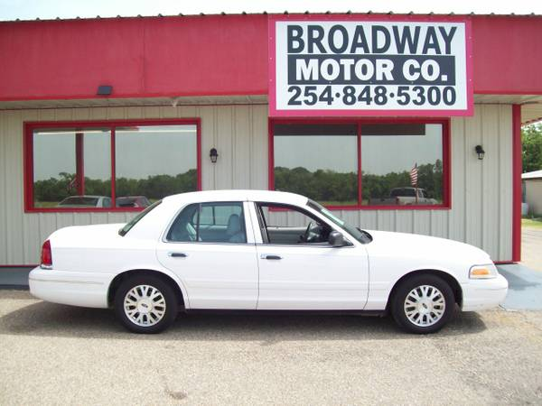 LOCAL WACO DEALER - 2003 CROWN VIC LX