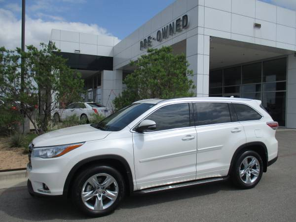 2015 TOYOTA HIGHLANDER SUV / LIMITED / THIRD ROW SEAT & AIR / 12,000 M