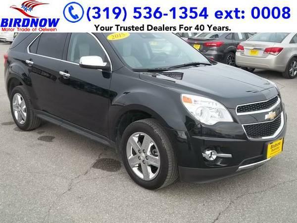 2015 *Chevrolet Equinox* LTZ (Black Granite)