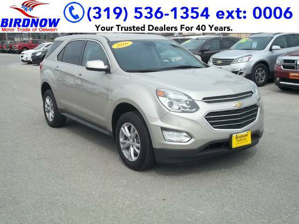 2016 *Chevrolet Equinox* LT (Champagne Silver)