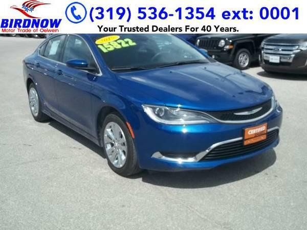 2015 *Chrysler 200* Limited (Vivid Blue Pearl Coat)