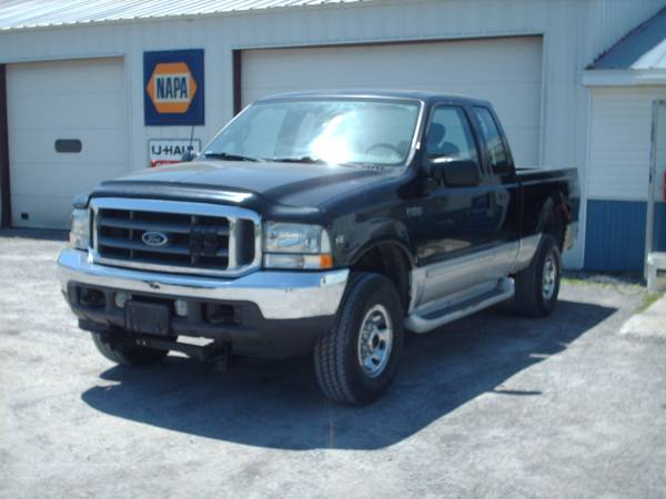 2002 FORD F-250 EXTENDED CAB
