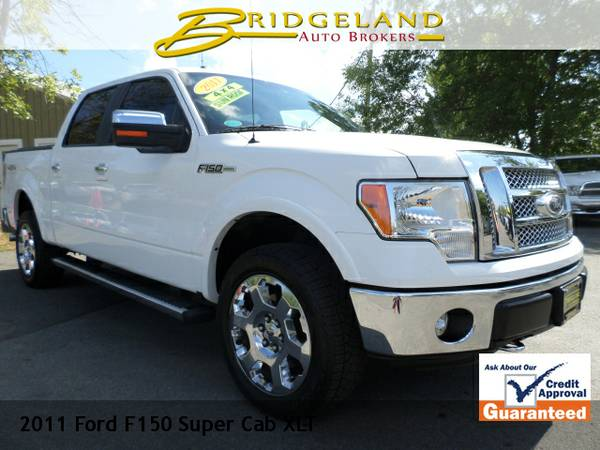 2011 Ford F150 Super Cab SUPER CREW LARIAT EVERY OPTION WHITE FROST...