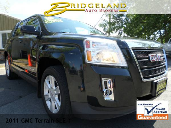 2011 GMC Terrain SLE GREAT ON GAS TUXEDO BLACK.. SHARP!
