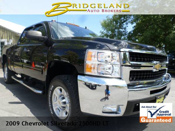 2009 Chevrolet Silverado 2500HD LT BLACK BEAUTY GREAT MILEAGE ..SUPER