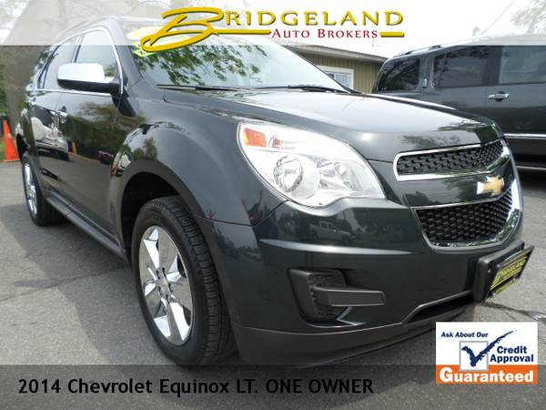 2014 Chevrolet Equinox LT AWD ONLY 29K SUNROOF FACTORY CHROME 29MPG