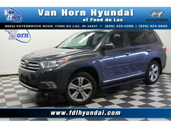 2012 *Toyota Highlander* AWD Limited - Toyota-Financing for Everyone