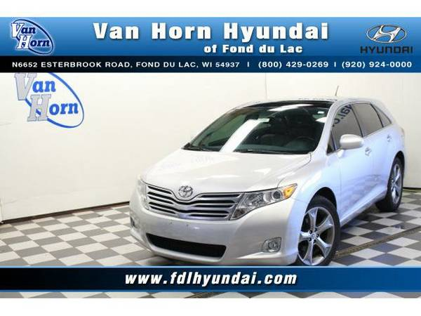 2012 *Toyota Venza* AWD XLE - Toyota-Financing for Everyone