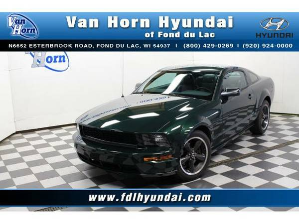 2008 *Ford Mustang* GT Bullitt - Ford-Financing for Everyone