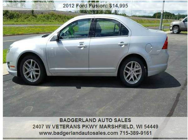 ##2012 Ford Fusion SEL - 26664 miles##