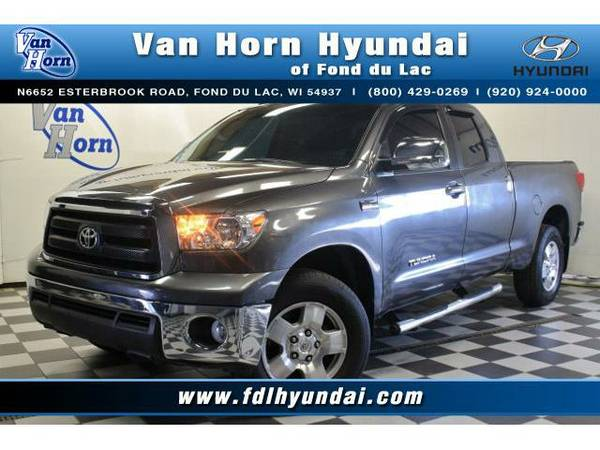 2012 *Toyota Tundra* 4x4 Double Cab - Toyota-Financing for Everyone
