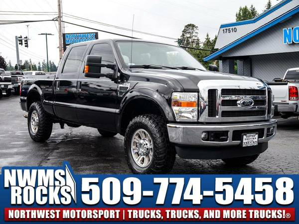 Lifted 2008 *Ford F250* XLT 4x4 -