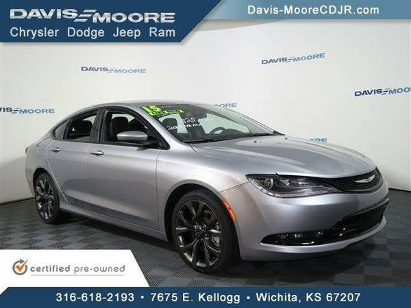 2015 *Chrysler 200* S AWD - Chrysler Billet Silver Metallic Clearcoat