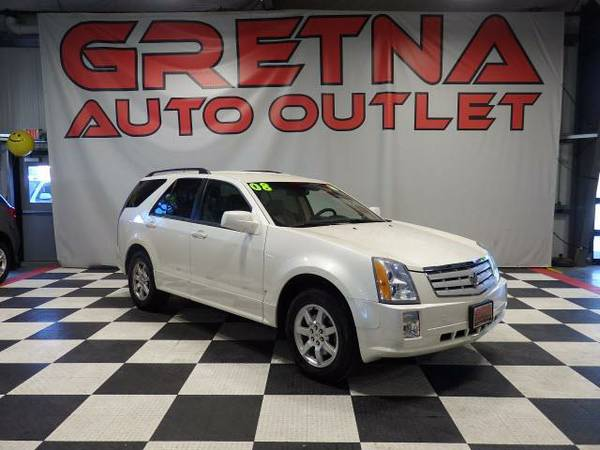 2008 Cadillac SRX PEARL WHITE V6 ONLY 95K FULLY LOADED