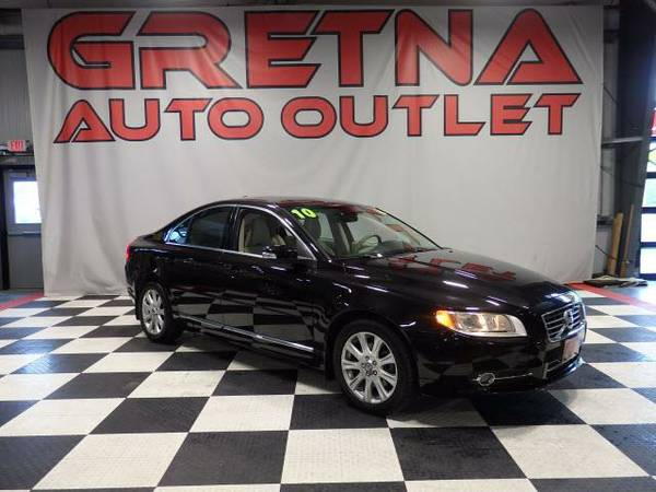 2010 Volvo S80 HEATED LEATHER MOONROOF BLUETOOTH ONLY 63K