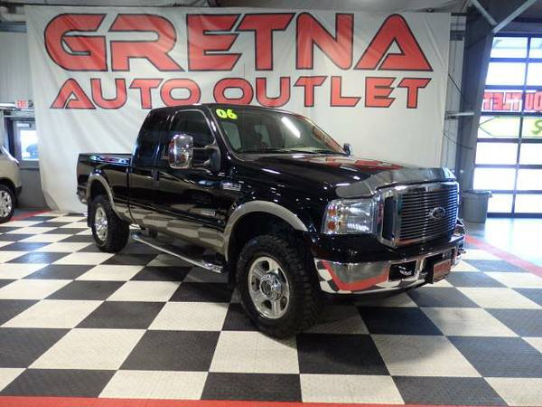 2006 Ford F-250 SD LARIAT LEATHER 4X4 DIESEL ONLY 44000 MILES CLEAN