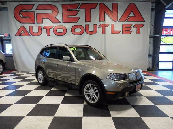 2007 BMW X3 3.0si AWD HEATED LEATHER ONLY 91K MOONROOF