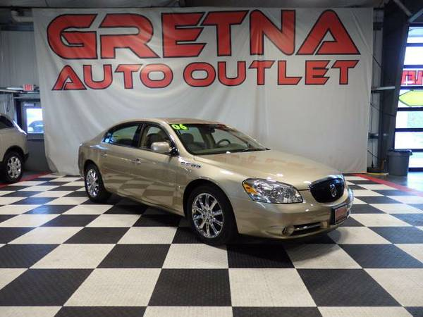 2006 Buick Lucerne CXS V8 HEATED-COOLED LEATHER MOONROOF LOADED UP