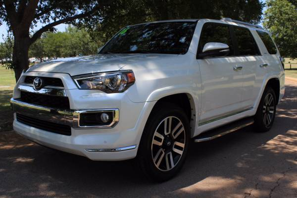 2016 TOYOTA 4RUNNER LIMITED! LOADED! LOW MILES! ONE OWNER! 3RD ROW!