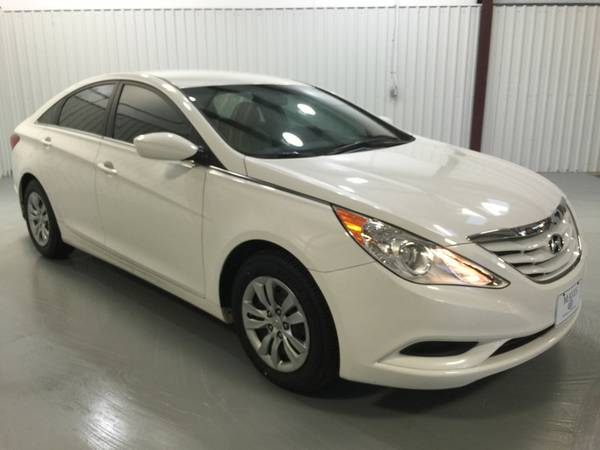 2012 HYUNDAI SONATA*COOL WHITE*TINT*CAMEL INTERIOR*POW WINDOWS*PW LOC