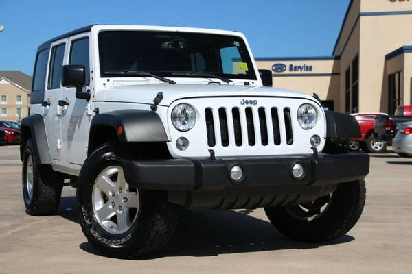 2015 JEEP WRANGLER UNLIMITED SPORT! ONLY $420/MONTH!!