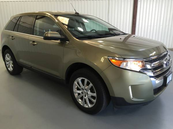 2013 FORD EDGE LIMITED*LEATHER*REAR BACK UP *WEATHER TECH MATTS*3.5V6*
