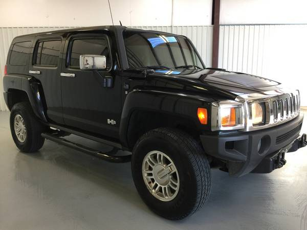 2007 HUMMER H3*LEATHER LOADED*DARK TINT*AUTOMATIC*4X4*CHROME BOARDS! W