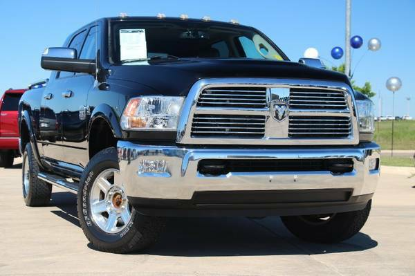 2012 RAM 2500 LARAMIE LONGHORN EDITION! FULLY LOADED! $565 A MONTH!