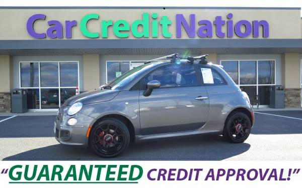 2012 FIAT 500 SPORT ~ ALL CREDIT SCORES ACCEPTED ~ ALL TRADES ACCEPTED
