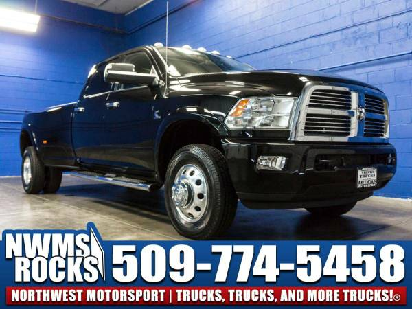 2012 *Dodge Ram* 3500 Limited Dually 4x4 - 6.7L Cummins! 2012 Dodge...