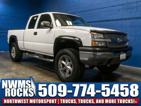 Lifted 2003 *Chevrolet Silverado* 1500 4x4 -