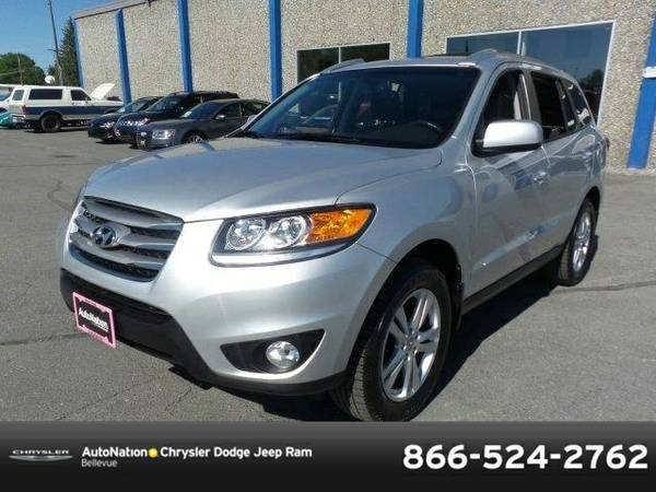 2012 Hyundai Santa Fe Limited SKU:CG153433 SUV