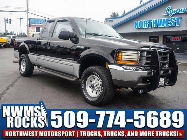 1999 *Ford F250* 4x4 - CALL TODAY! 1999 Ford F-250 4x4 Diesel Trucks