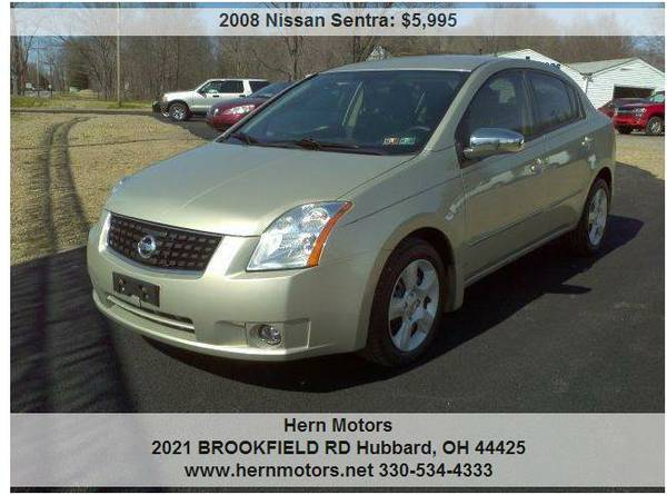 2008 NISSAN SENTRA 4DR! VERY GOOD CONDITION! INSIDE OUT!!! L@@K!