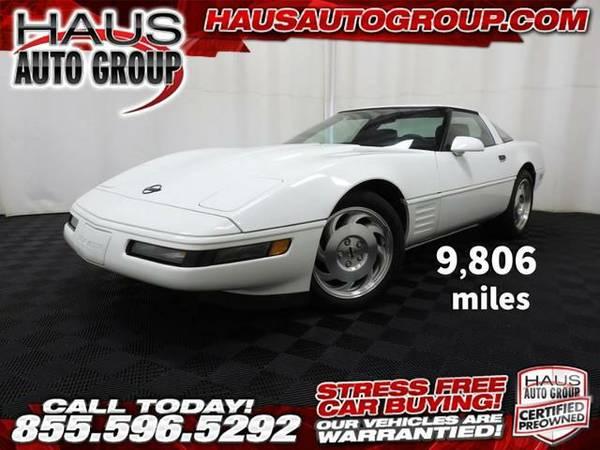 1993 *Chevrolet Corvette* - Chevrolet-INSTANT APPROVAL