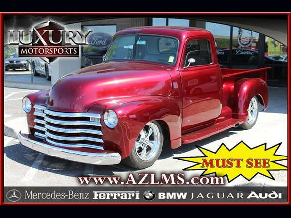 1950 Chevrolet 3100 .... WOW .... Great Truck .... Must See .... Nice