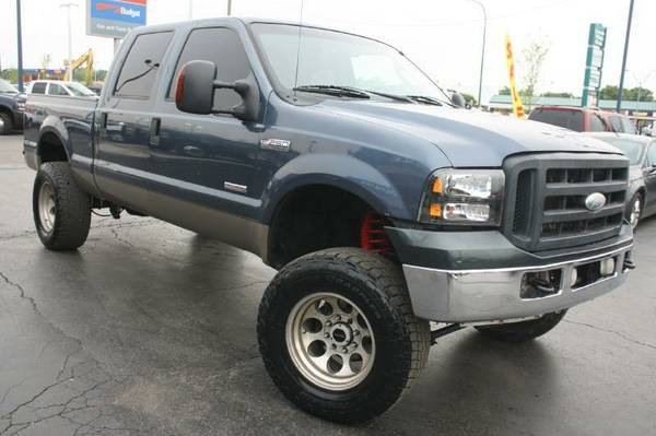 2006 Ford F250-Lariat, Diesel, Big Tires, Lifted