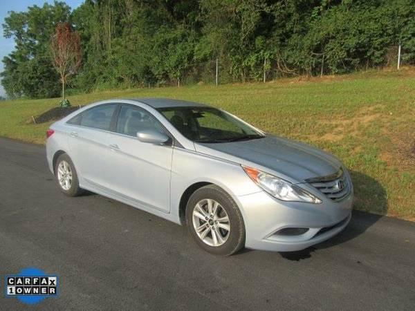 2011 *Hyundai Sonata* GLS - Hyundai Radiant Silver