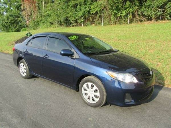 2011 *Toyota Corolla* LE - Toyota Nautical Blue Metallic