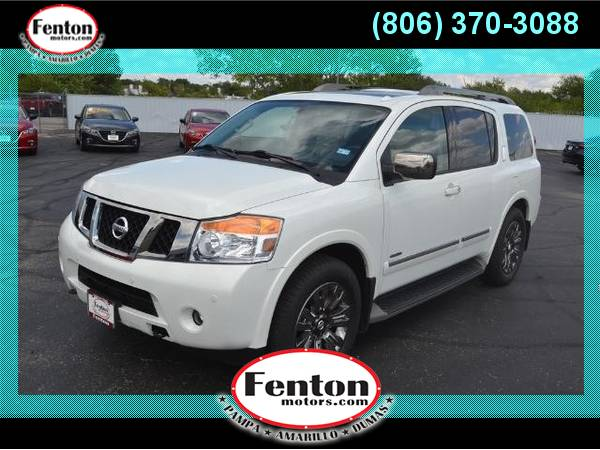 2015 Nissan Armada Platinum We Have the Best Deals!